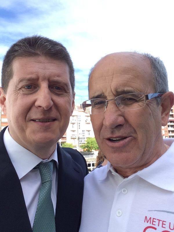 Javier Azparren y Javier Irureta